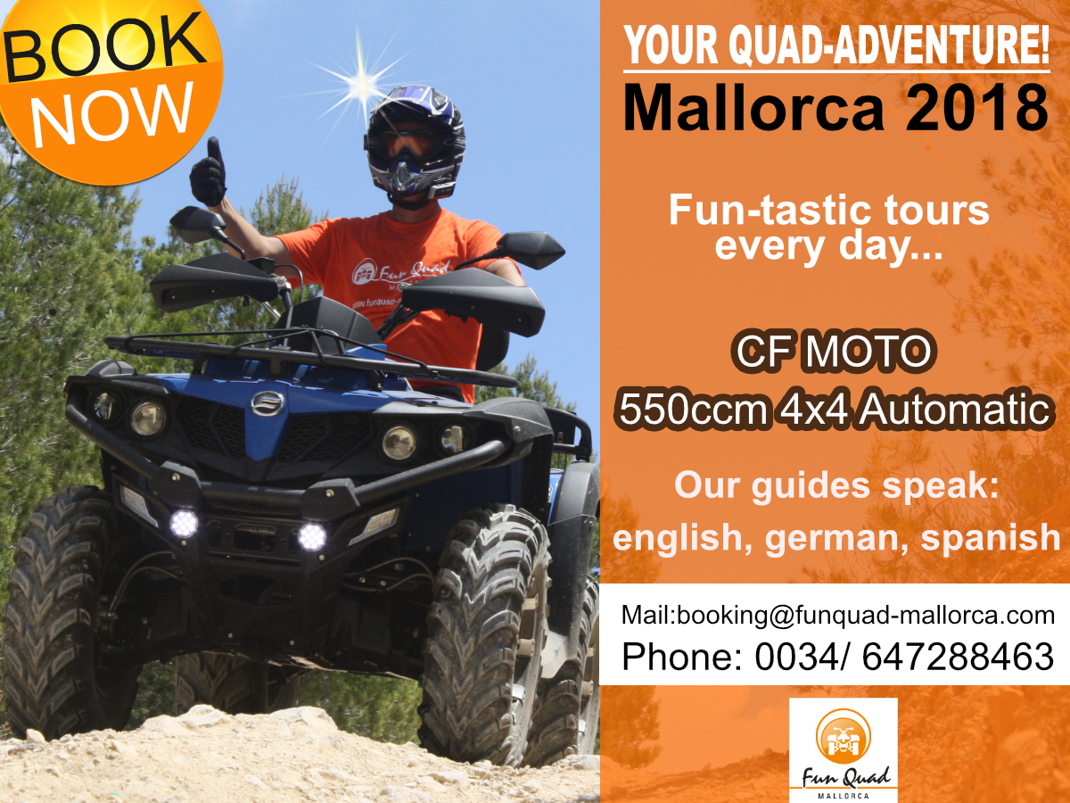 Funquad Website Adventure Mallorca